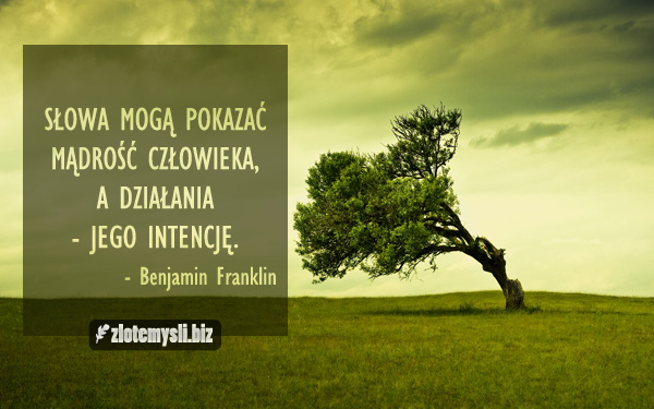 Słowa Mogą Pokazać Mądrość Człowieka Zlotemyslibiz