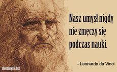 Leonardo Da Vinci Cytaty Aforyzmy Złote Myśli